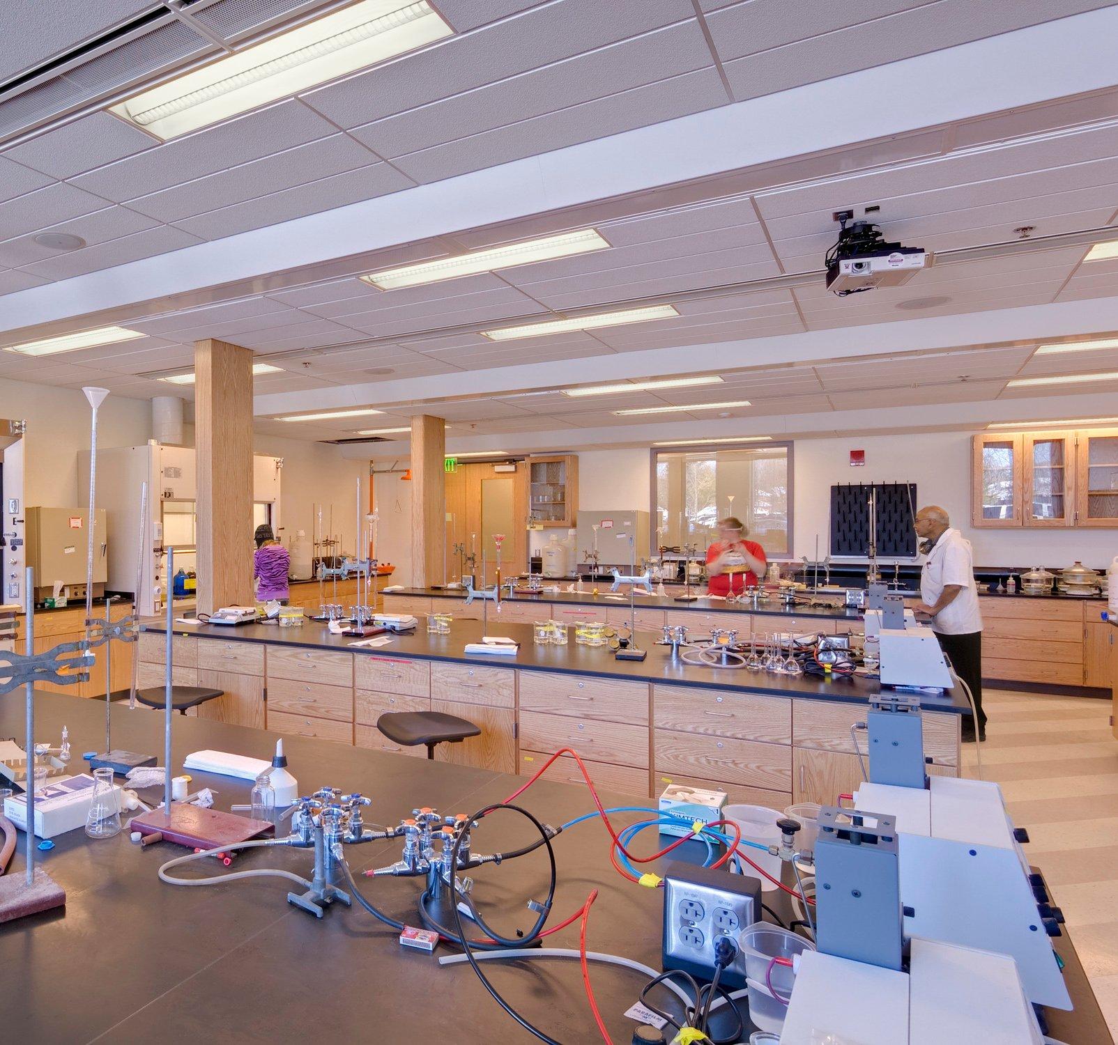 Eastern Michigan University Mark Jefferson Science Complex Lab