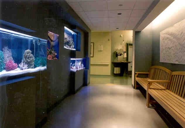 DMC Karmanos Cancer Institute Lobby