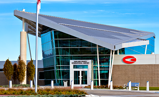 Oakland County International Airport New Terminal and Offices 533x324