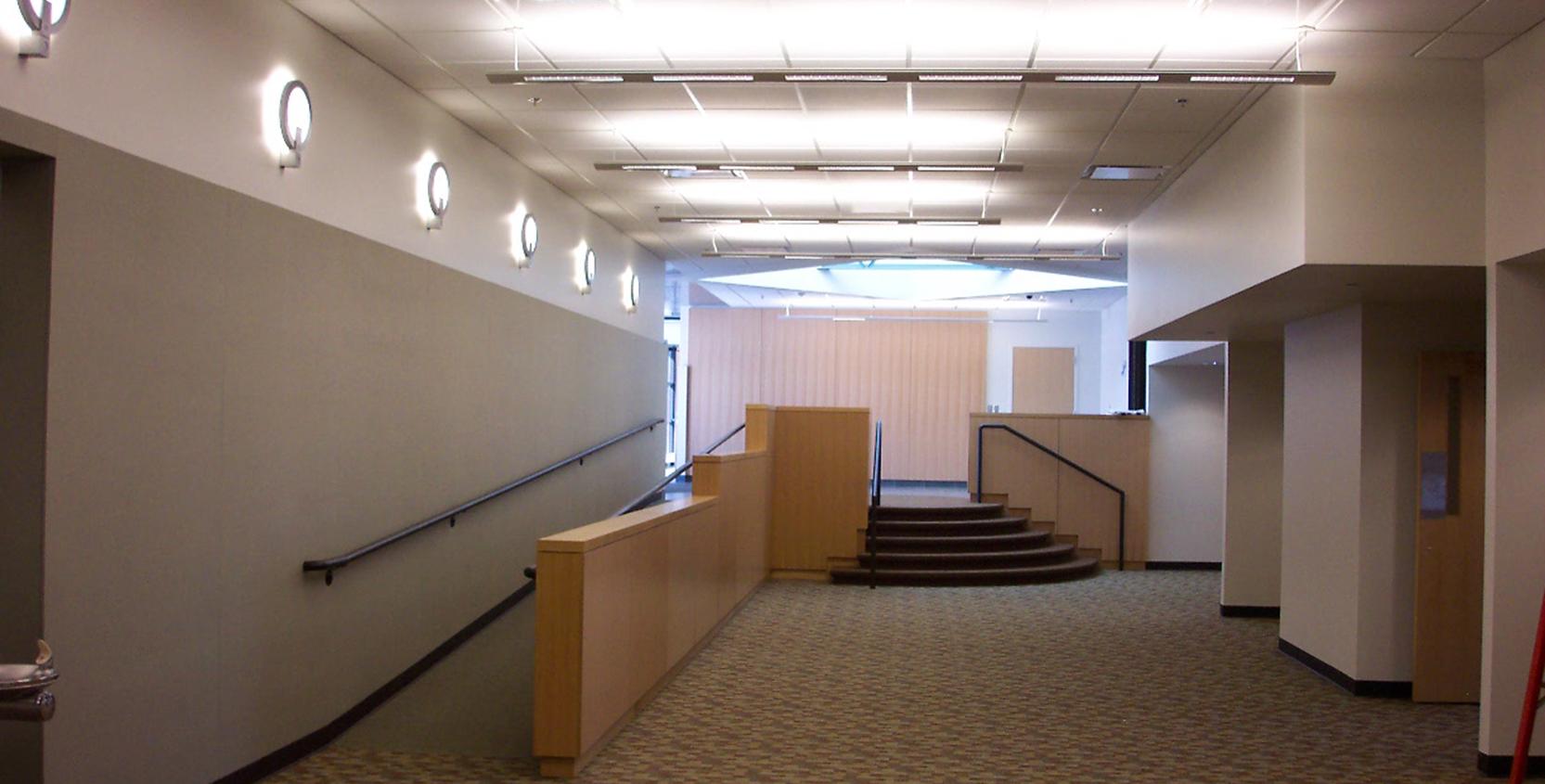 Oakland County Admin Bldg Office Renov Hallway-1665x845