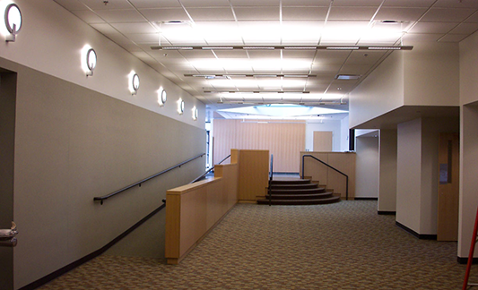 Oakland County Admin Bldg Office Renov Hallway-533x324