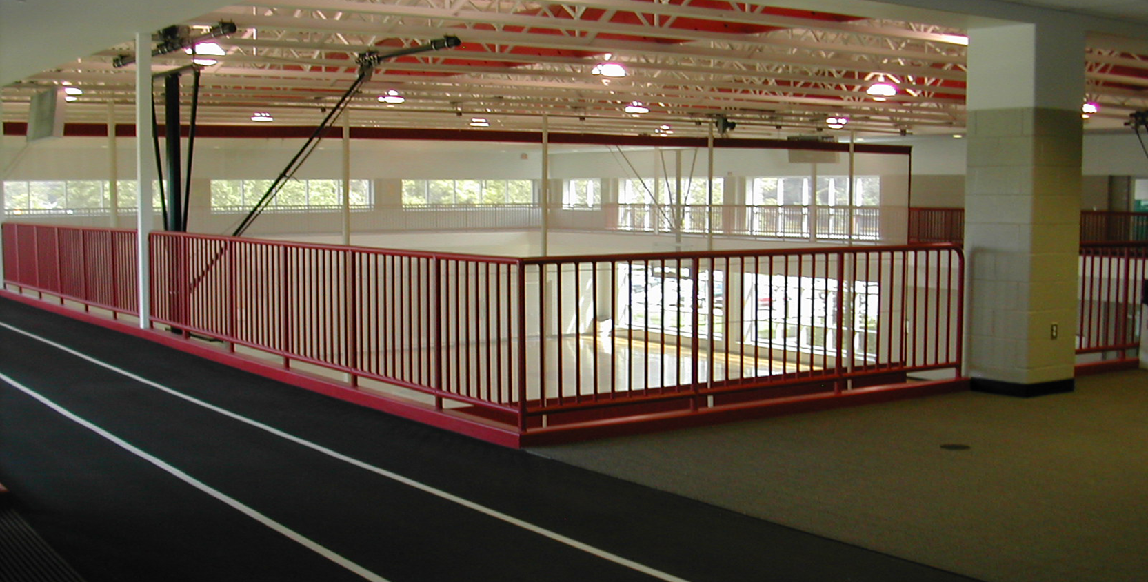 Ford Community & Performing Arts Running Track 1665x845