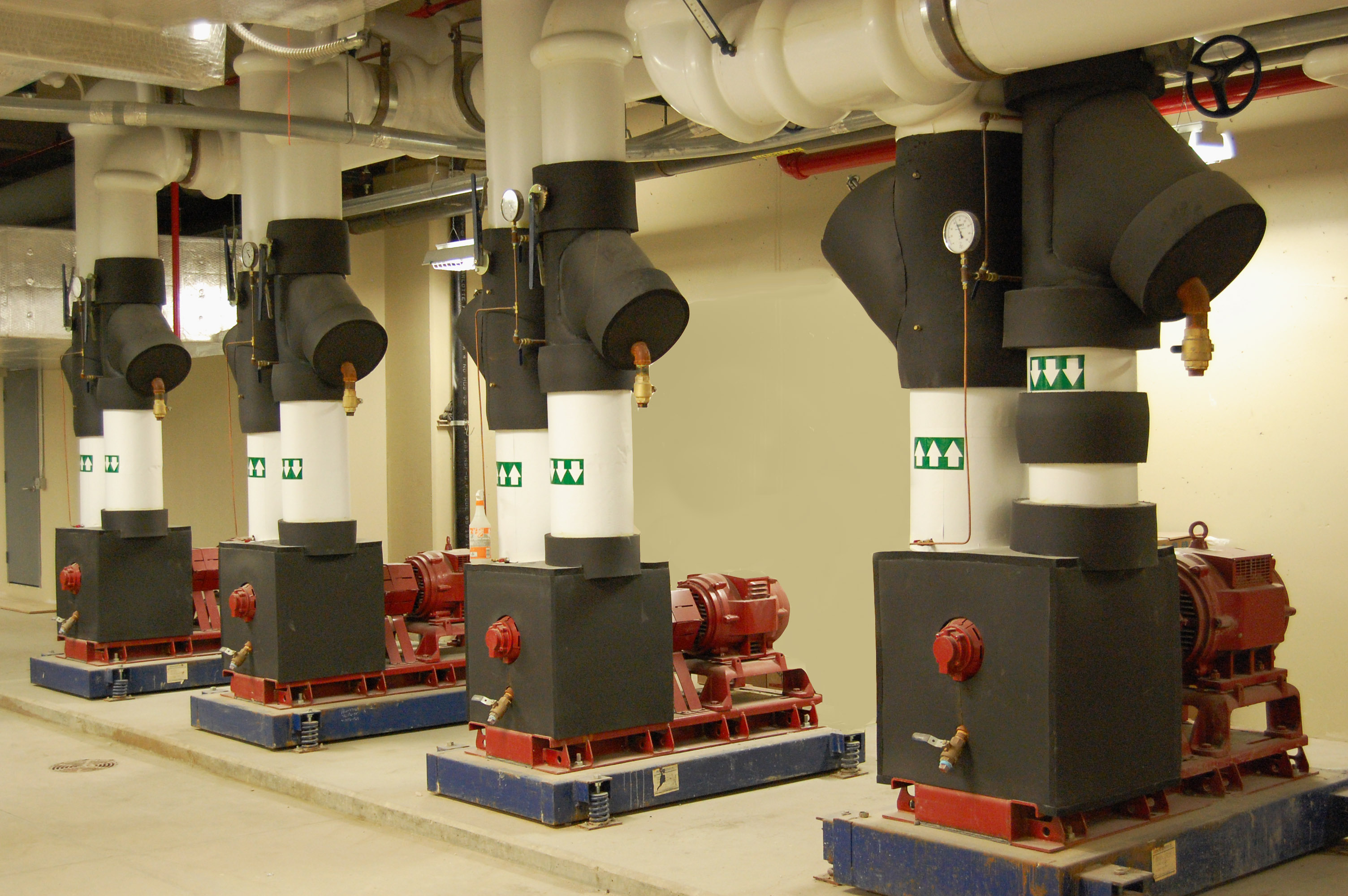 St Joseph Mercy Oakland South Patient Tower Pumps