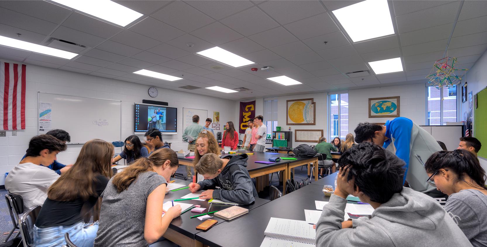 Troy-Public-Schools-Athens-HS-Classroom