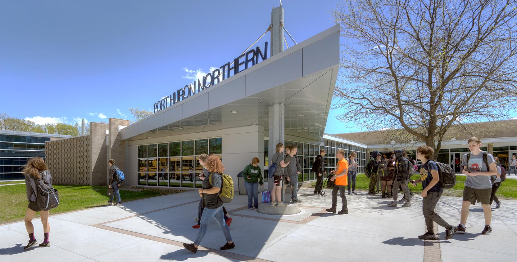 Port-Huron-Northern-High-School-Renovation-Exterior-1665x845