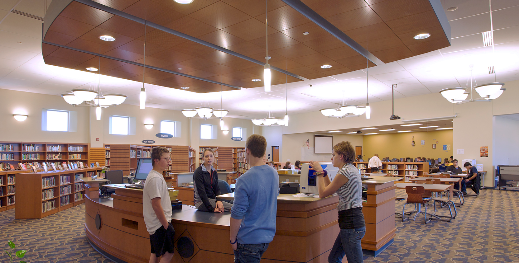 Portage-Central-HS-Library-Information-1665x845