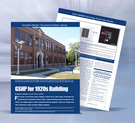 GSHP for 1920s Building Port Huron Junior College