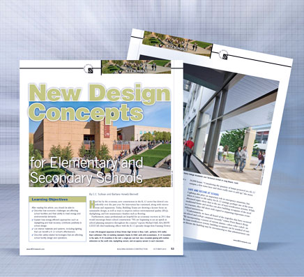 New Design Concepts for Elementary and Secondary Schools