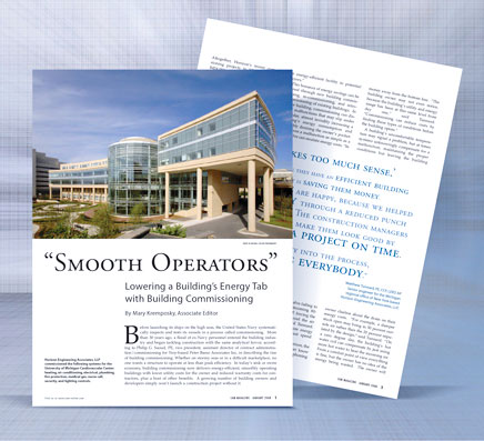 Smooth Operators Lowering a Building's Energy Tab with Building Commissioning
